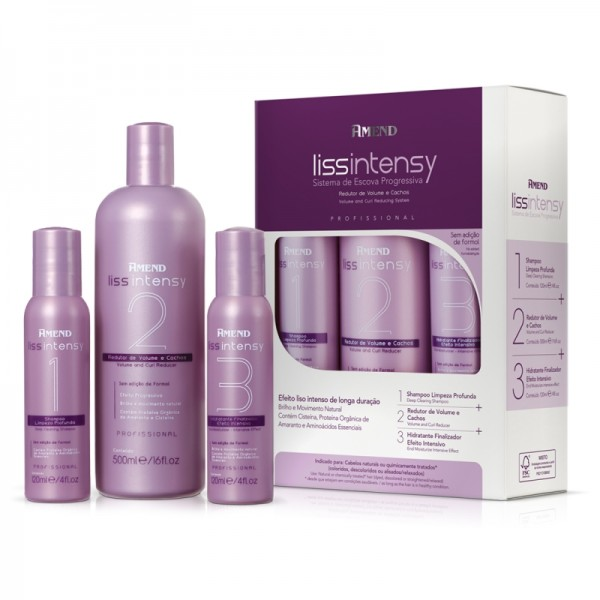 Amend Liss Intensy Kit Escova Progressiva 740ml