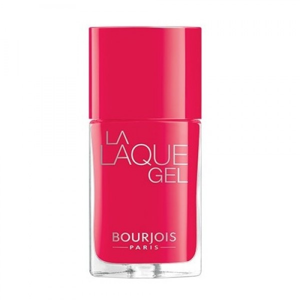 Bourjois La Laque Gel 04 Flambant Rose 10mL