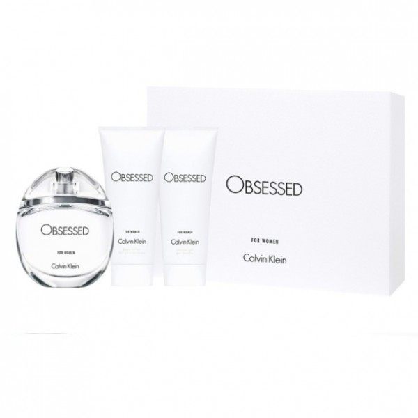 Calvin Klein Obsessed For Woman EDP 100 ml + Body Lotion 100ml + Shower Gel 100ml