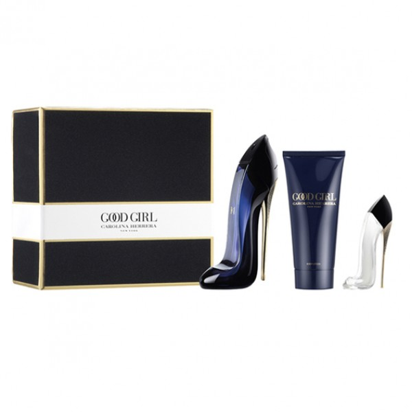 Carolina Herrera Good Girl EDT 50ml + Body Lotion 75ml + Good Girl EDT 7ml