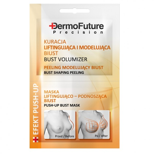 Tratamento Push-UP Modelador Peito DermoFuture 2x12ml