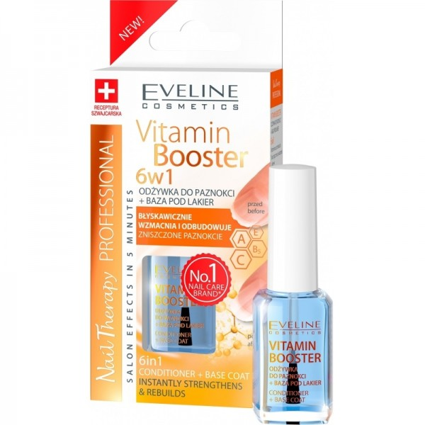 Verniz 6 em 1 Vitamin Booster Eveline Cosmetics 12ml
