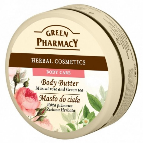 Manteiga Corporal Rosa Mosqueta Green Pharmacy 200ml