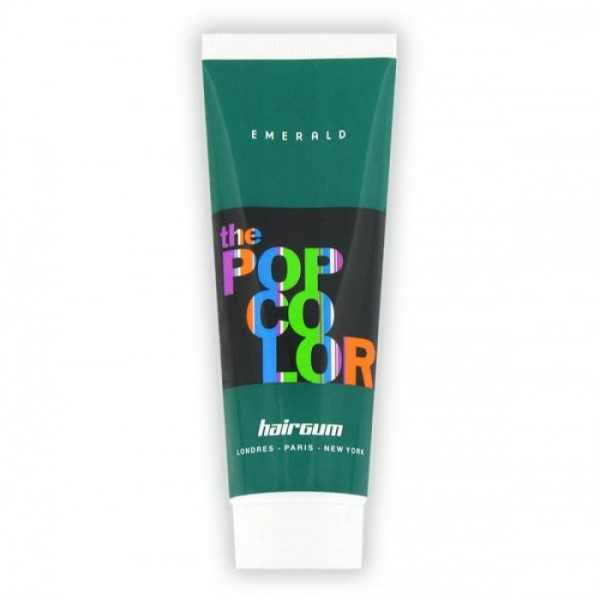 Hairgum Coloração Pop Color Verde Esmeralda 60ml
