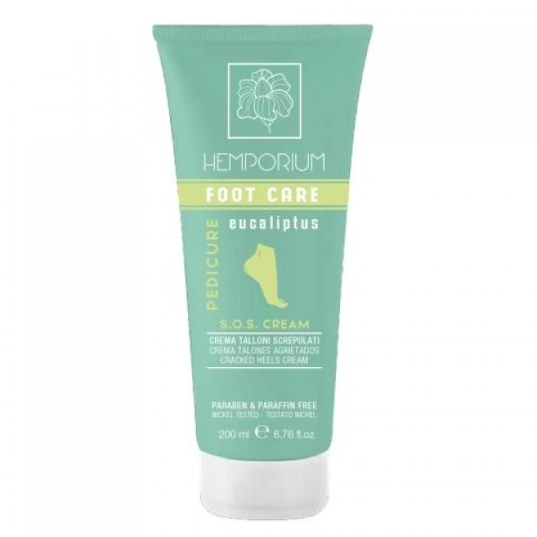 Creme SOS Pés Hemporium 200ml