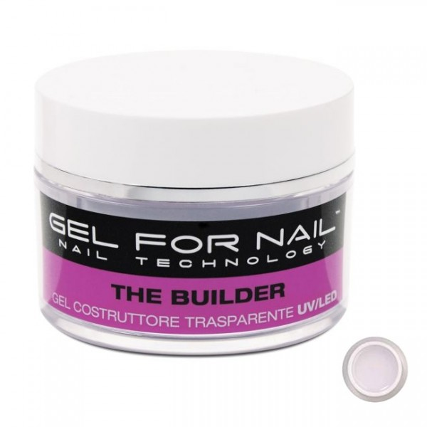 Gel For Nail Gel Construtor Transparente UV 15ml