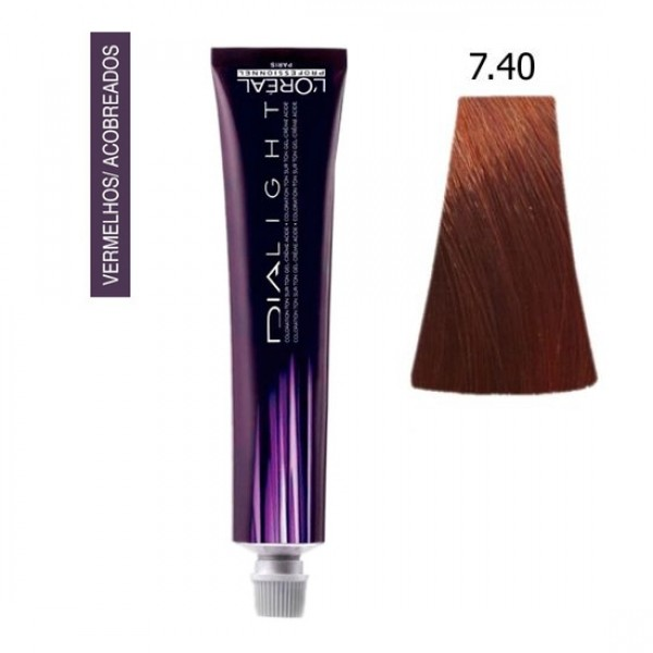 L'oréal Professionnel Coloração Dialight 7.40 50ml