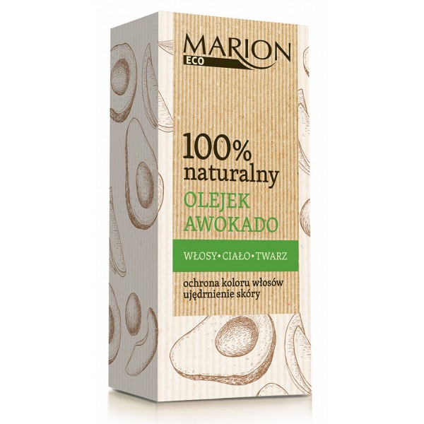 Óleo 100% Natural Abacate Marion 25ml
