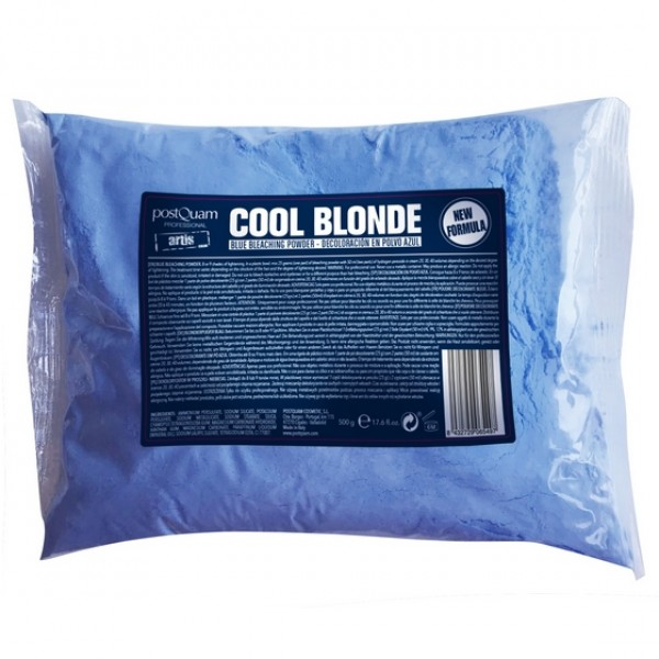 Descolorante Pó Azul Cool Blond PostQuam 500g