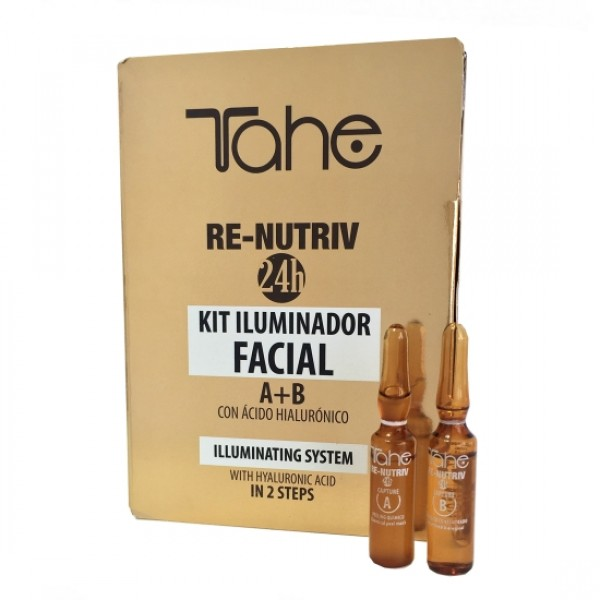 Tahe Re-Nutriv Kit Iluminador Facial 2x2ml