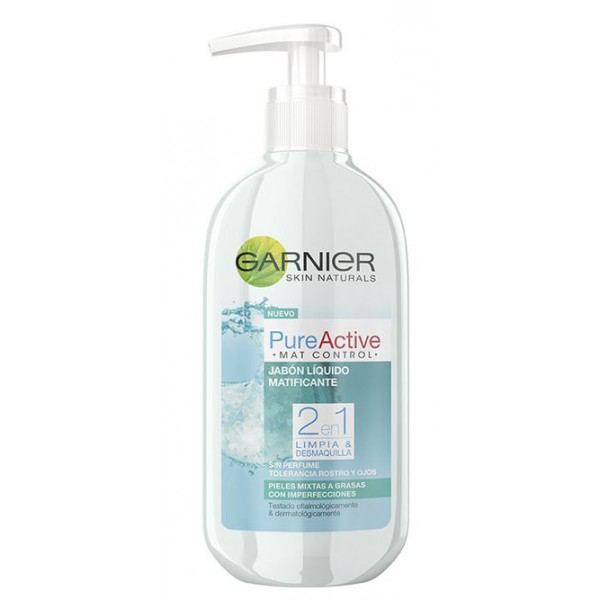 Gel de Limpeza Matificante Garnier 200ml