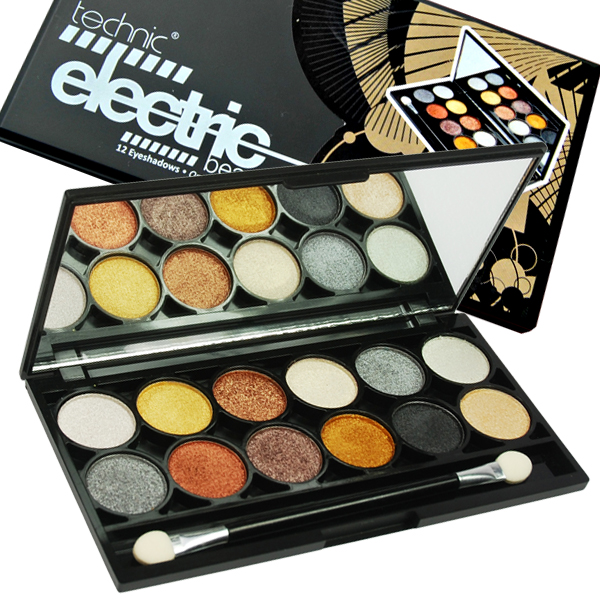 Paleta de Sombras Electric Eyes Metalix Technic